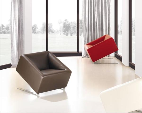 designer-Stühle-braun-rot-design-idee