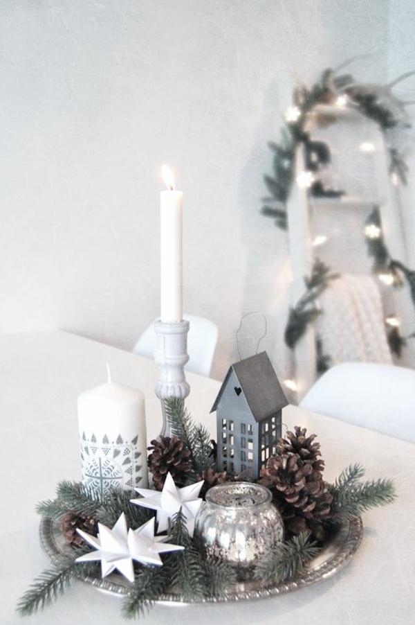 Silvester tischdeko f r einen zauberhaften abend for Tischdeko fur weihnachten ideen