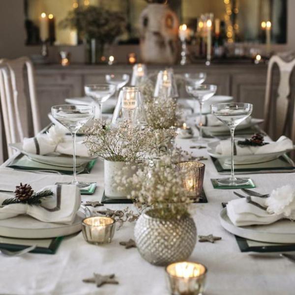 Silvester tischdeko f r einen zauberhaften abend for Tischdekoration festlich