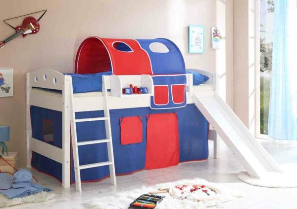 erstaunliches-Kinder-Bett-mit-Rutsche-Design