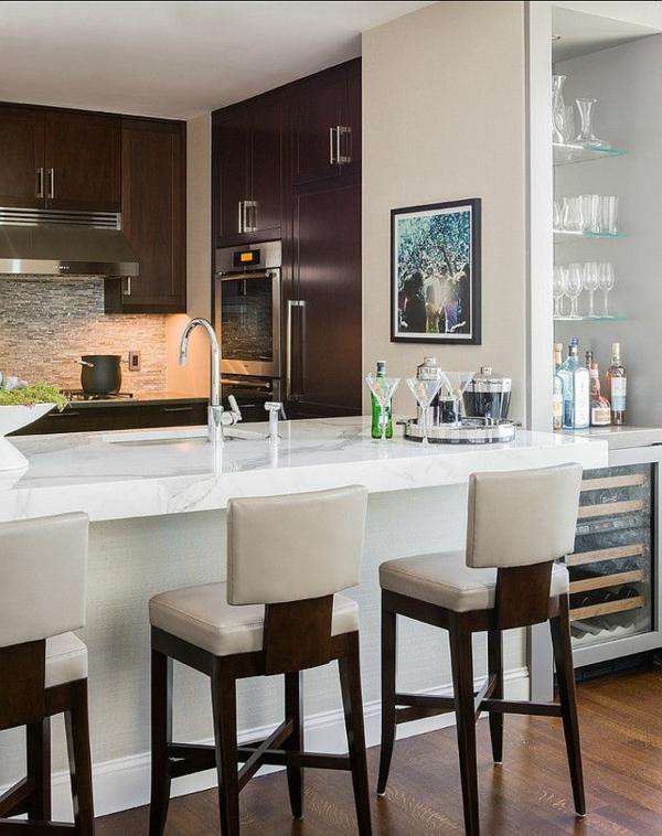 fantastische--Küche-mit-einer-Bar-Interior-Design