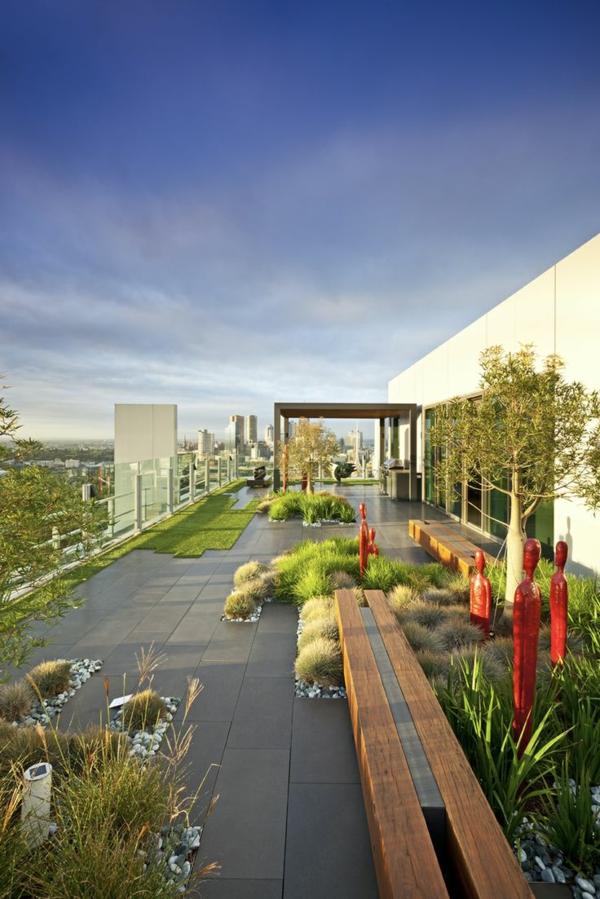 fantastischer-Garten-auf-der-Dachterrasse-Design-Idee