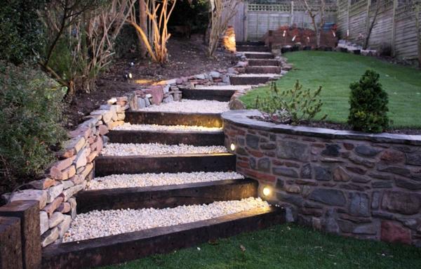 Gartentreppe - 33 tolle Gestaltungsideen! - Archzine.net