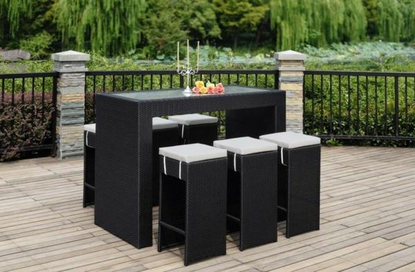 bartisch mit hocker 40 coole ideen. Black Bedroom Furniture Sets. Home Design Ideas