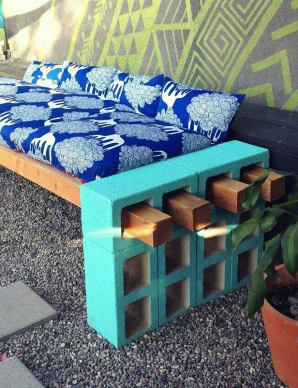 gartenbank designs 25 interessante bilder. Black Bedroom Furniture Sets. Home Design Ideas