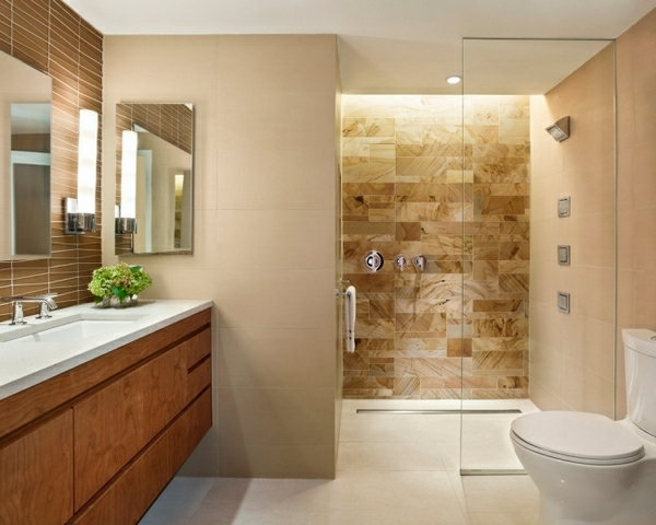Geflieste Dusche - 25 wunderschöne Bilder!