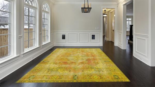 gelbe-Teppiche-Idee-für-Zuhause-Designidee