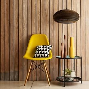 Gelber Stuhl - frische Beispiele