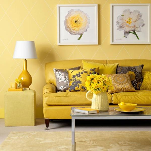Attraktiv Gelber Teppich Im Hause ...