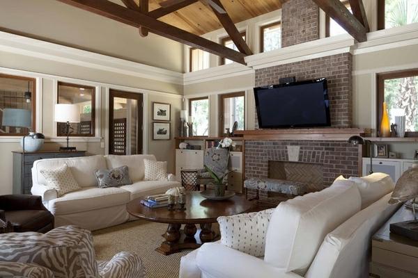 bilder wohnzimmer ideen:elegantes und gemütliches wohnzimmer mit weißen möbeln