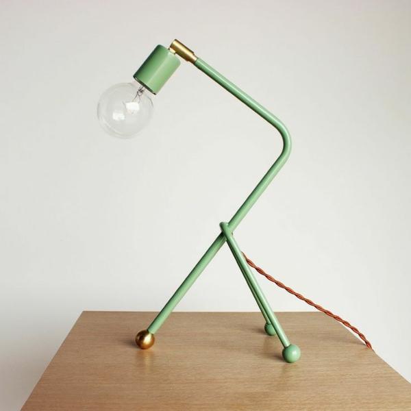 grüne--Schreibtischampen-für-das-Kinderzimmer-Ideen