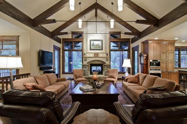 landhausstil wohnzimmer ideen | möbelideen, Modern Dekoo