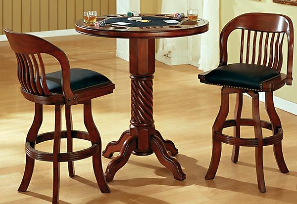 bartisch aus holz effektvoll und klassisch. Black Bedroom Furniture Sets. Home Design Ideas
