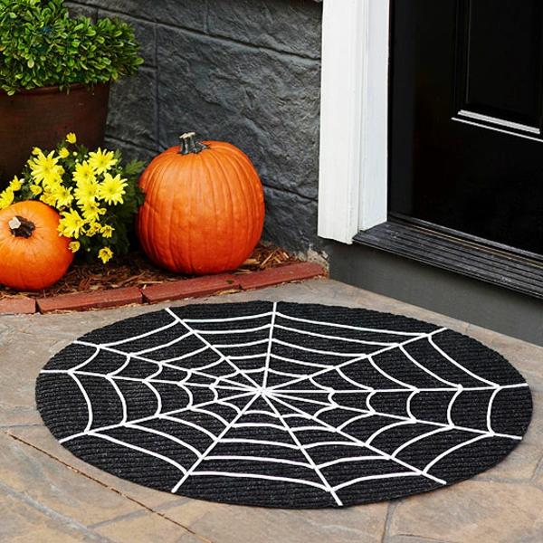 halloween-deko-ideen-schwarzer-teppich