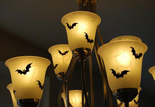 kreative halloween deko. Black Bedroom Furniture Sets. Home Design Ideas