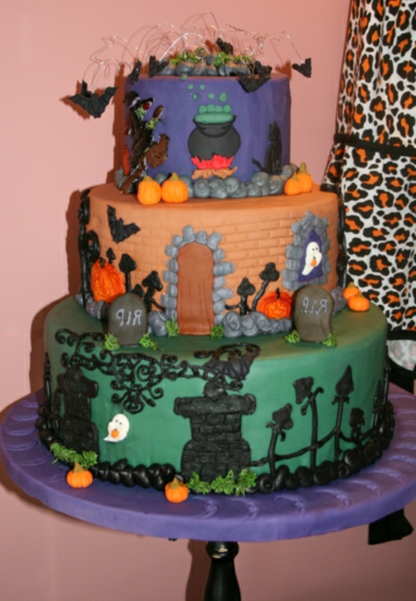 halloween-torten-kerative-gestaltung