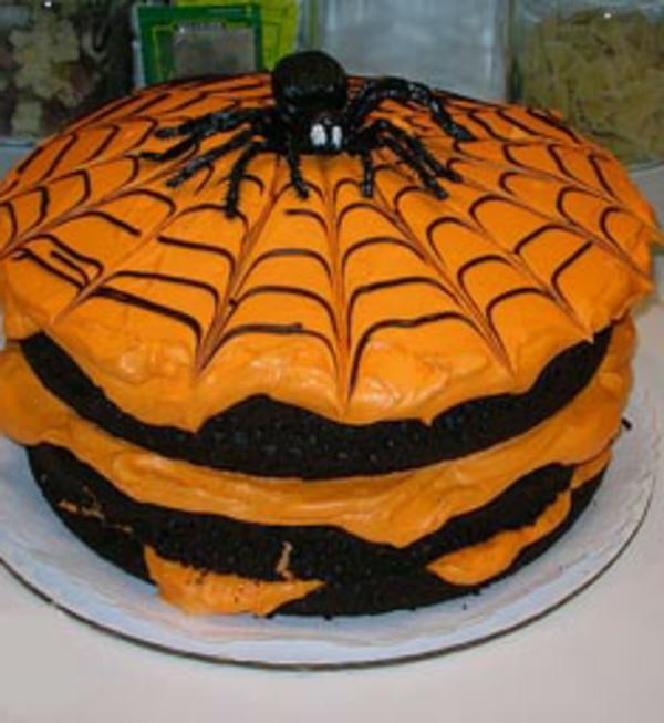 halloween-torten-spinne