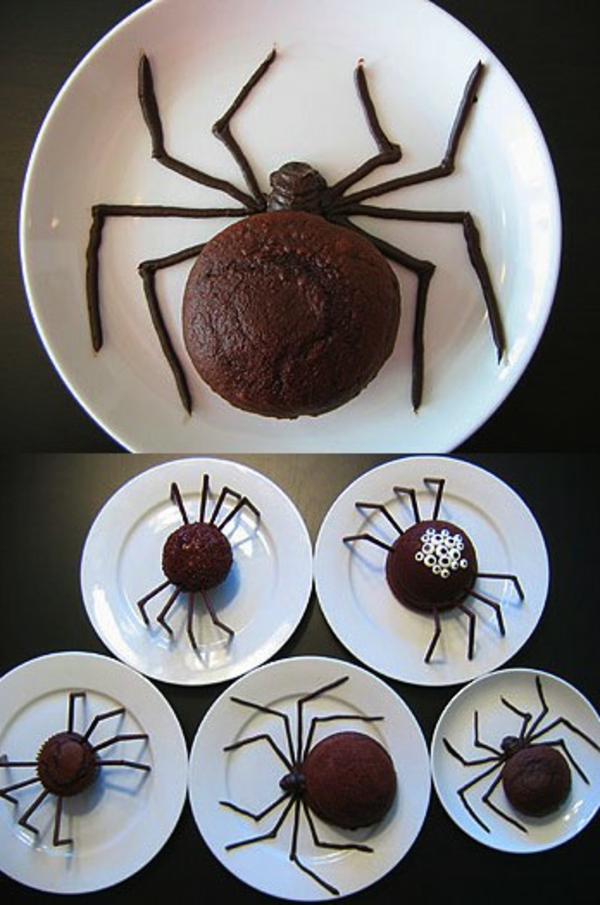 halloween-torten-spinnen