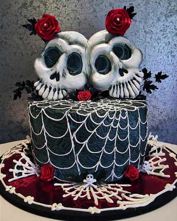 halloween-torten-zwei-schädel