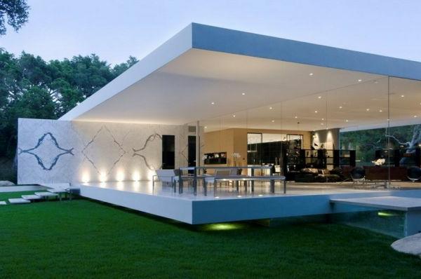 Glashaus erstaunliche fotos for Modernes haus viel glas