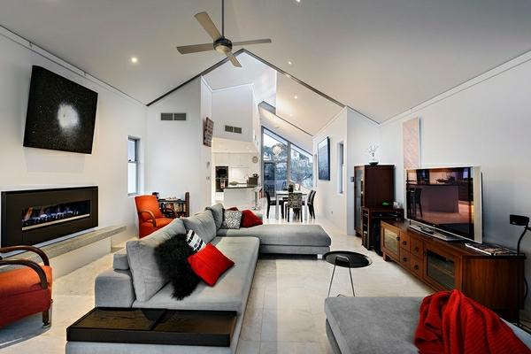Zimmerdecken Ideen Frs Wohnzimmer