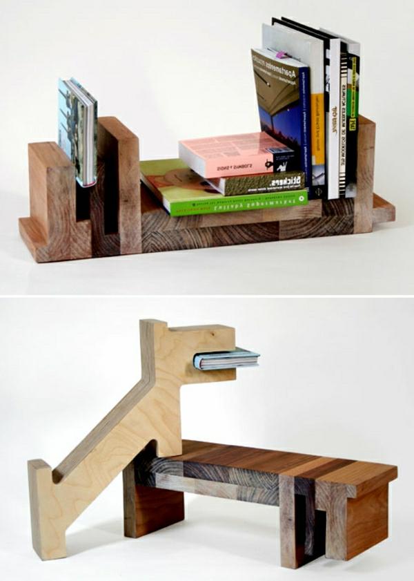 modernes b cherregal design 34 neue vorschl ge. Black Bedroom Furniture Sets. Home Design Ideas