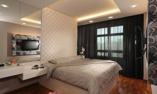 indirekte beleuchtung im schlafzimmer sch ne ideen. Black Bedroom Furniture Sets. Home Design Ideas