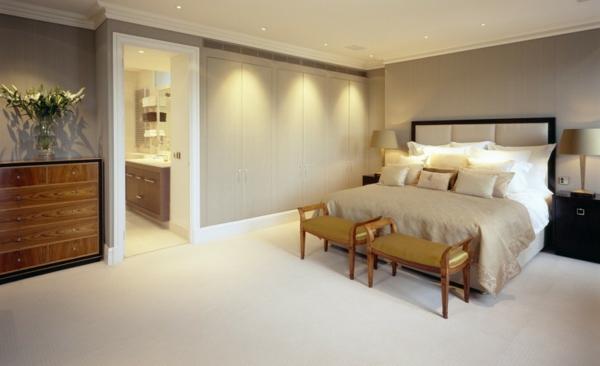 Indirekte Beleuchtung im Schlafzimmer - schöne Ideen ...