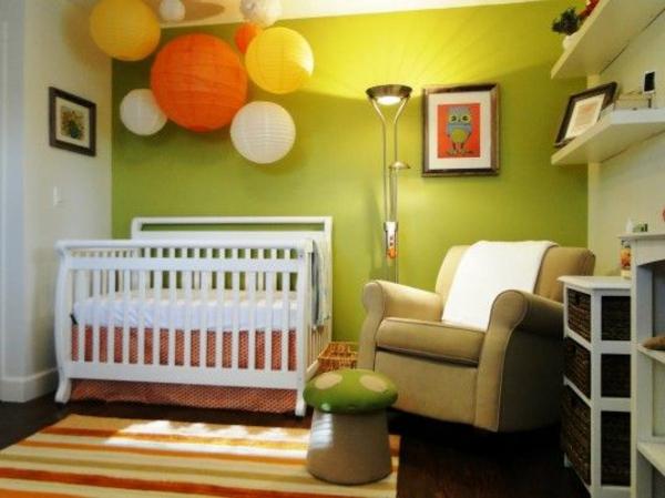 interessante-Babyzimmer-Dekorationsideen-Laternen