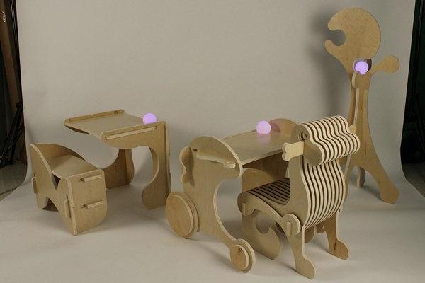 interessante-Kinderstühle-aus-Holz-Ideen