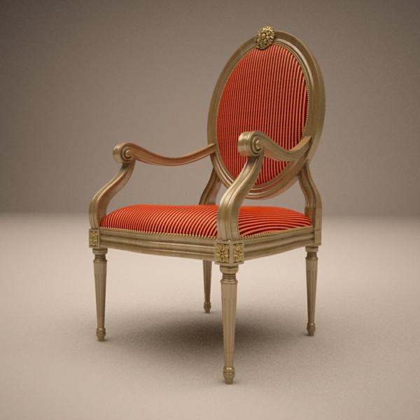 italienische- designermöbel-von-Angelo-Cappellini-orange-stuhl