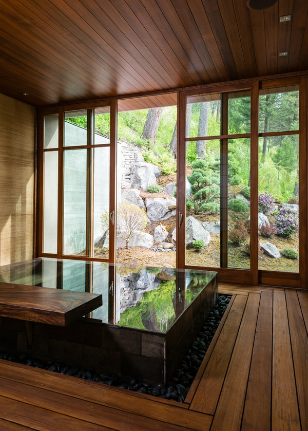 Japanische Badewanne - 25 originelle Designs - Archzine.net
