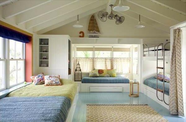 Bedroom Bunk Bed Ideas