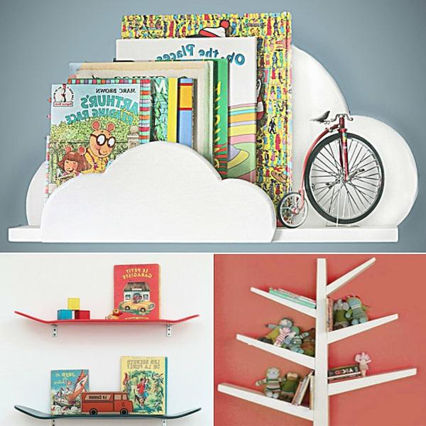 Bücherregal wand kinderzimmer  Kinder - Bücherregal - 27 super schöne Modelle! - Archzine.net