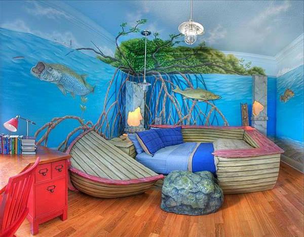 Ideensammlung kinderzimmer for Kinderzimmer unterwasserwelt