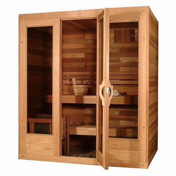 klassisches-design-von-sauna-mit-glasfront