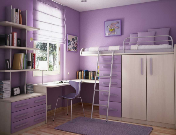 Moderne und funktionelle Kinderzimmermöbel - Archzine.net