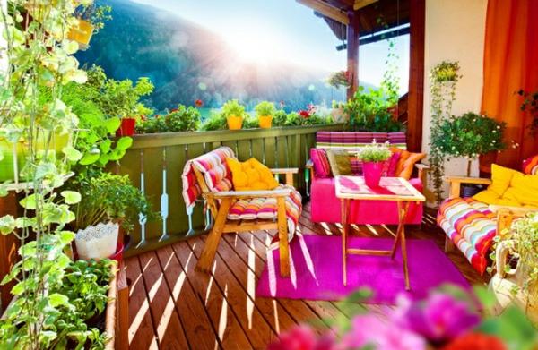 kletterpflanzen-für-balkon-bunte-grelle-farben