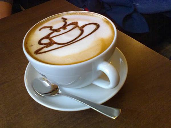 kreative-Dekoration-Tasse-Kaffee-Idee