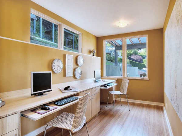 Kreative einrichtungsideen f r ihren keller - Custom home office designs ideas ...