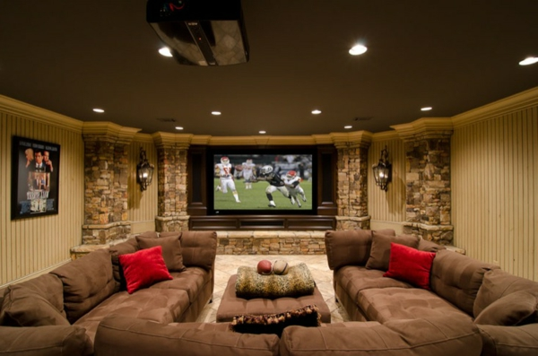 Family Room Wall Design Ideas