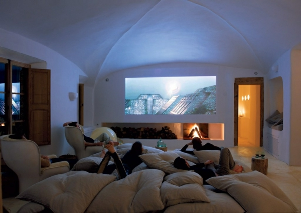 Cosy Small Cinema Room
