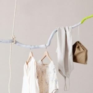 Kleiderstange für Wand - 24 originelle Modelle
