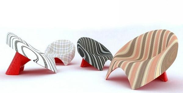 kreative-moderne-designer-Stühle-Idee