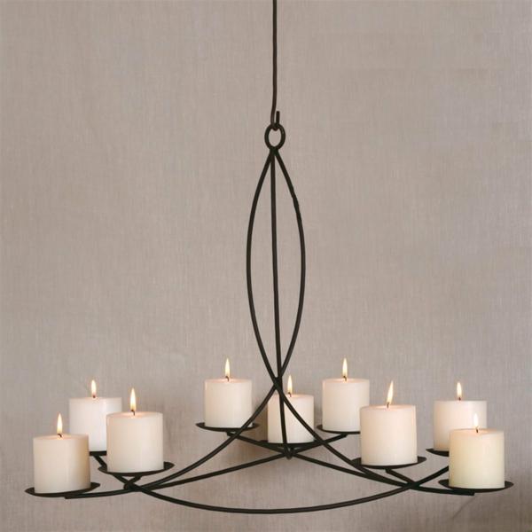 Kronleuchter mit Kerzen - 29 verblüffende Modelle! - Archzine.net