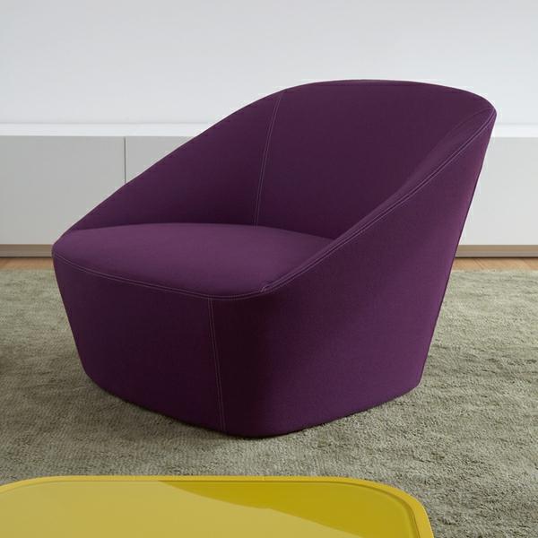 Stuhl in lila stilvoll und extragavant for Stuhl design buch
