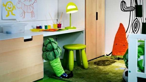limegrüne-Schreibtischampen-für-das-Kinderzimmer-Gestaltungsidee