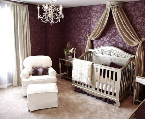 Baldachin - Bett Im Babyzimmer - 27 Geniale Ideen! - Archzine.Net