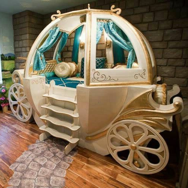 Kinderhochbett mit rutsche selber bauen  27 märchenhafte Kinderbetten! - Archzine.net