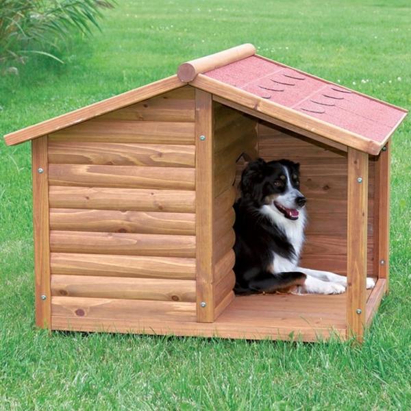 moderne-Hütte-für-den-Hund-machen